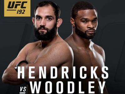 UFC 192 Johny Hendricks vs Tyron Woodley
