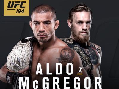 Jose Aldo vs Conor McGregor