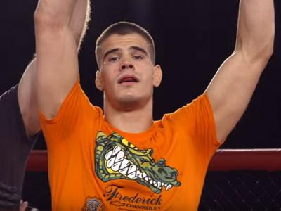 Mickey Gall still from his appearance on Dana White: Lookin' for a Fight