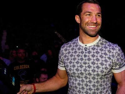LAS VEGAS, NV - MARCH 05: UFC middleweight champion Luke Rockhold in attendance during the UFC 196 event inside MGM Grand Garden Arena on March 5, 2016 in Las Vegas, Nevada. (Photo by Christian Petersen/Zuffa LLC/Zuffa LLC via Getty Images)