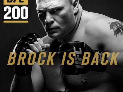 Brock Lesnar returns graphic