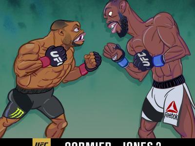 Adult Swim UFC 200 animated short Jon Jones vs Daniel Cormier