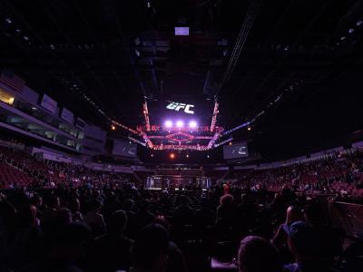 UFC Wichita Octagon