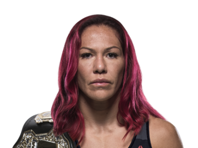 Cris Cyborg with belt