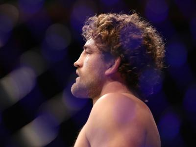 Ben Askren walks to the octagon in his welterweight fight during the UFC 239