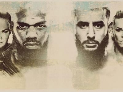 UFC 247 Poster