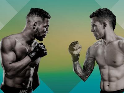 UFC Brasilia Poster