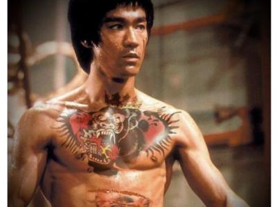 Conor McGregor Bruce Lee Tattoo