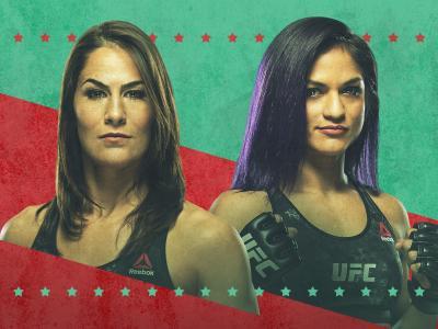 UFC Jessica Eye vs Cynthia Calvillo Poster