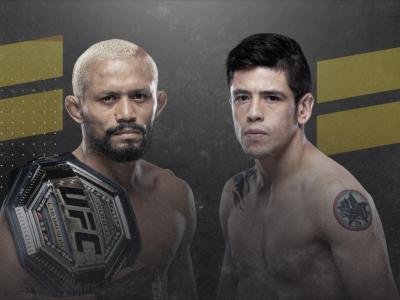 UFC 256 Deiveson Figueiredo vs Brandon Moreno HERO