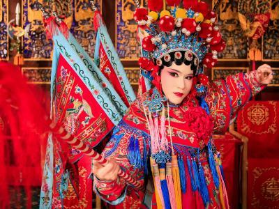 Weili Zhang Mu Guiying Taking Command Opera