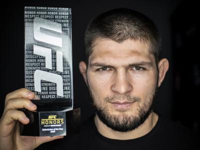 UFC Honors Khabib Nurmgomedov best submission