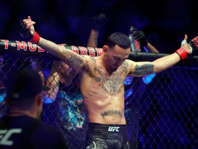 LAS VEGAS, NEVADA - DECEMBER 14: UFC featherweight champion Max Holloway prepares for a title defense against Alexander Volkanovski during UFC 245