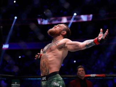 LAS VEGAS, NEVADA - JANUARY 18: Conor McGregor prepares for his welterweight bout against Donald Cerrone during UFC246
