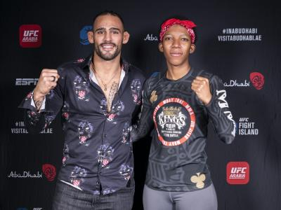 Santiago Ponzinibbio and Joselyne Edwards Fight Island 7