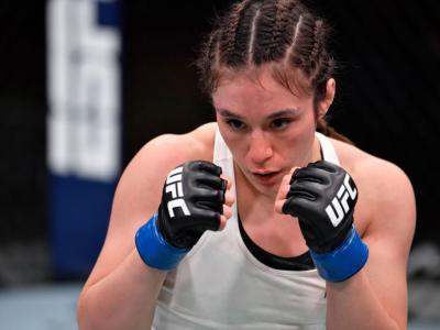 Alexa Grasso vence a Maycee Barbr en UFC 258