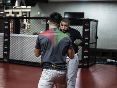Belal Muhammad training for UFC Vegas 21