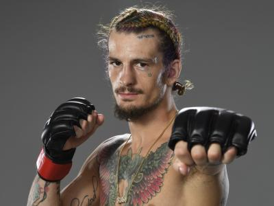 LAS VEGAS, NEVADA - MARCH 27: Sean O'Malley poses for a portrait after his victory during the UFC 260 event at UFC APEX