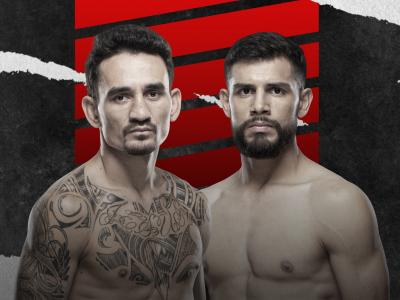 Main Event for UFC Fight Night on July 17, 2021 between Max Holloway and Yair Rodriguez