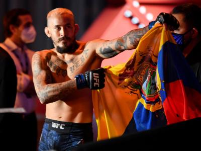 Chito Vera Cronologia UFC Vegas 29