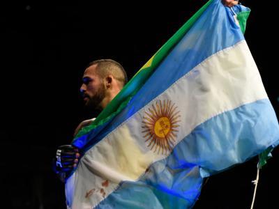 Ponzinibbio en UFC Vegas28