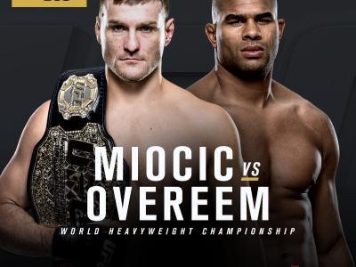 UFC 203 main event announcement stipe miocic vs alistair overeem