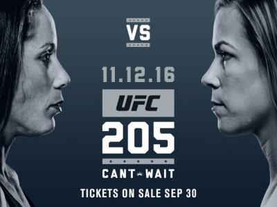 Bout announcement UFC 205: Liz Carmouche vs Katlyn Chookagian