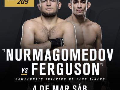 Khabib Nurmagomedov vs Tony Ferguson ESP