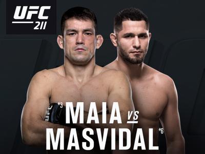 Demian Maia vs Jorge Masvidal