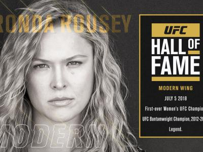 Ronda Rousey Hall of Fame