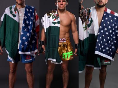 Brian Ortega, Henry Cejudo and Kelvin Gastelum feature