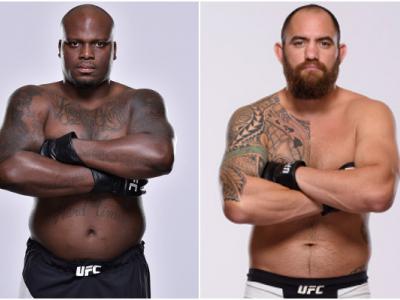 Derrick Lewis e Travis Browne fazem a luta principal do UFC Halifax, em 19 de fevereiro, no Canadá.