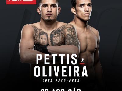 UFC confirma Anthony Pettis x Charles Oliveira no UFC Vancouver, em 27 de agosto.