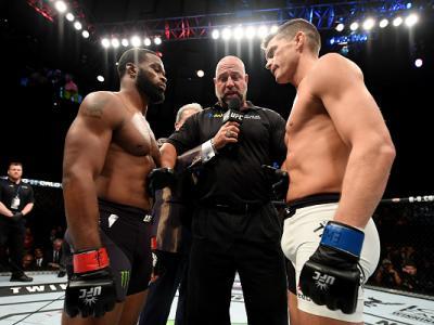 No primeiro encontro, o campeão Tyron Woodley manteve o cinturão após empate majoritário com Stephen Thompson. Relembre tudo o que aconteceu e saiba como os lutadores estão se preparando para a revanche do dia 4 de março, no UFC 209.