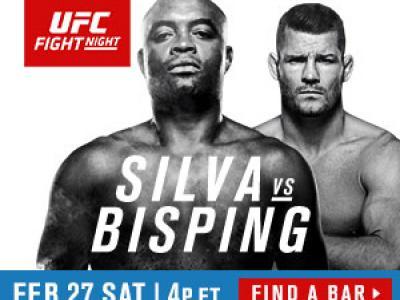 UFC Fight Night Silva vs Bisping London bar finder 300x250