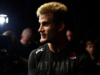 NORFOLK, VA - NOVEMBER 11:  Sage Northcutt prepares to enter the Octagon prior to facing Michel Quinones in their lightweight bout during the UFC Fight Night event inside the Ted Constant Convention Center on November 11, 2017 in Norfolk, Virginia. (Photo