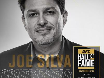 2017 UFC Hall of Fame class Contributor Joe Silva