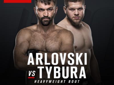 UFC FIGHT NIGHT SINGAPORE Heavyweight bout Andrei Arlovski vs Marcin Tybura