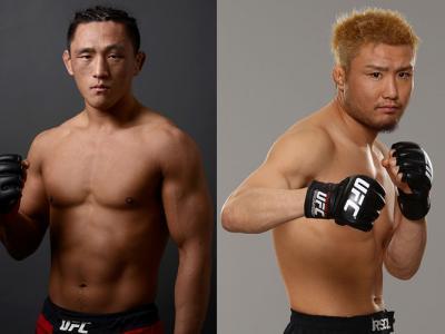 Light weight bout Maestro Dong Hyun Kim vs Fire kid Takanori Gomi