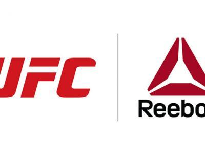 UFC and Reebok logo
