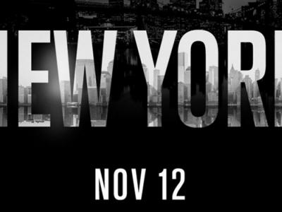 Logo for November 12 2016 Madison Square Garden UFC event
