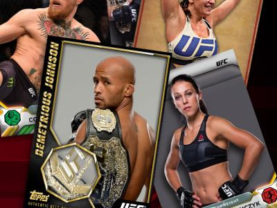 UFC Topps 2016 Knockout 16 digital trading card app