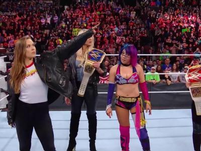 Ronda Rousey at Royal Rumble 2018