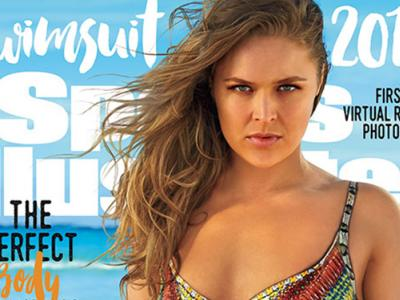 Ronda Rousey SI Swimsuit issue 2016 cover (Courtesy Sports Illustrated)