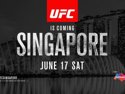 UFC FIGHT NIGHT Singapore June 17 2017