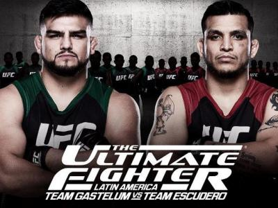 TUF Latam 2, TUF Latinoamerica 2, The Ultimate Fighter Latin America 2, Kelvin Gastelum vs Efrain Escudero