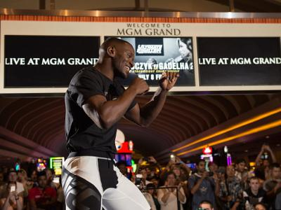 LAS VEGAS, NV - JULY 5: Will Brooks holds an open training session for fans and media at at MGM Grand Hotel & Casino on July 5, 2016 in Las Vegas, Nevada. (Photo by Brandon Magnus/Zuffa LLC/Zuffa LLC via Getty Images)