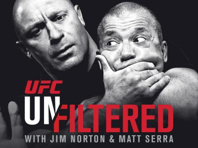 UFC Unfiltered with Jim Norton and Matt Serra 1200x1200 promo