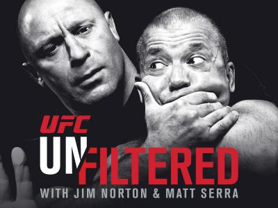UFC Unfiltered with Jim Norton and Matt Serra episode 9 holly holm and darryl mcdaniels