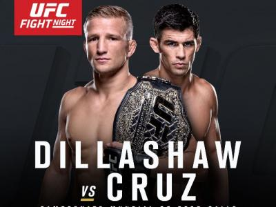 UFC Fight Night Boston TJ Dillashaw vs Dominick Cruz